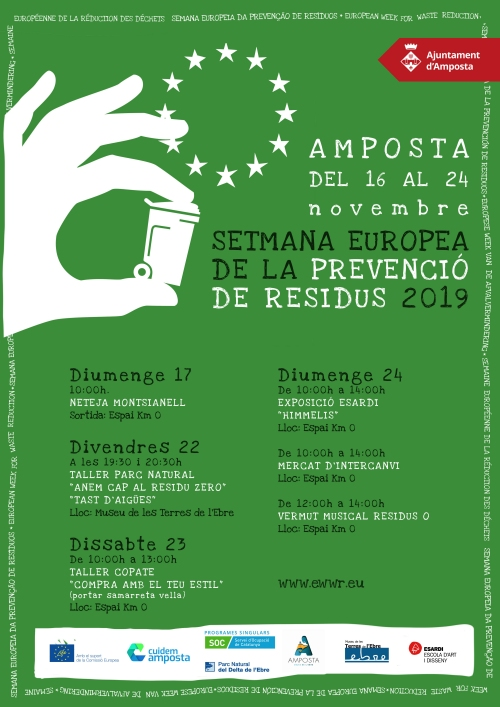Setmana Europea de la Prevenció de Residus: Mercat d'Intercanvi