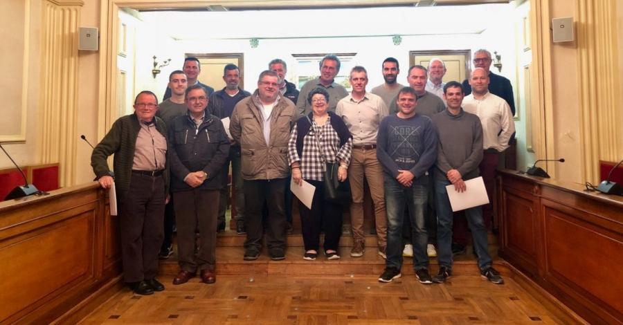 Signats els convenis anuals entre l'Ajuntament i els clubs esportius d'Amposta