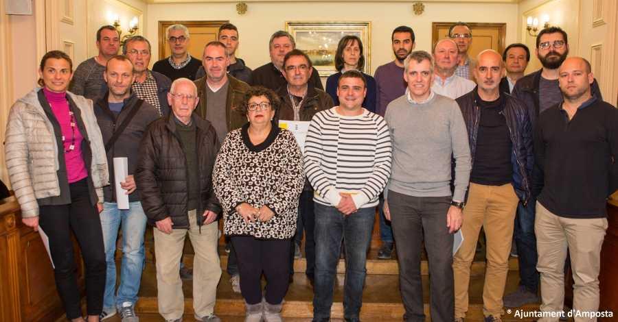 L'Ajuntament d'Amposta signa convenis de col·laboració amb 15 entitats esportives de la ciutat