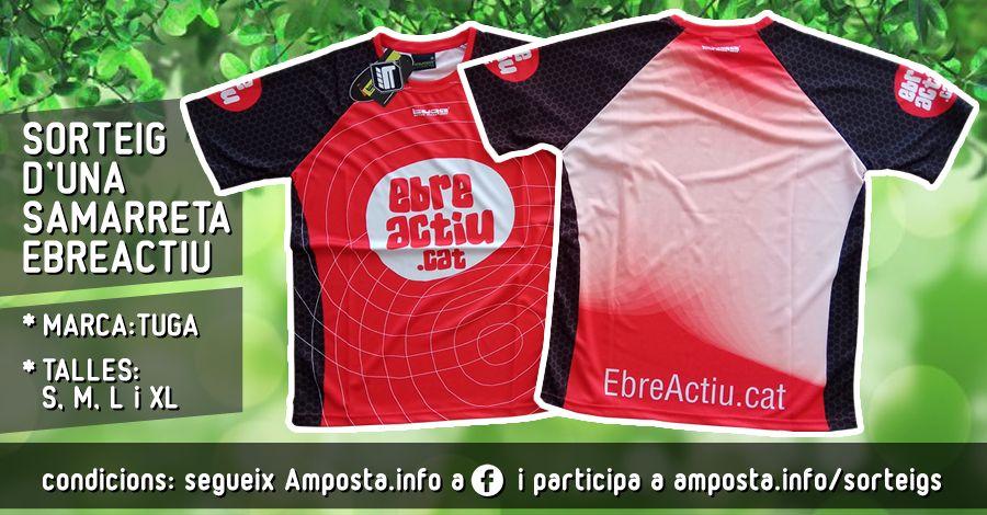 Sorteig d´una samarreta EbreActiu (marca Tuga) | Amposta.info