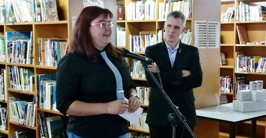 L'ampostina Susanna Lizárraga guanya el VI Premi de Narrativa Breu Ciutat d'Amposta