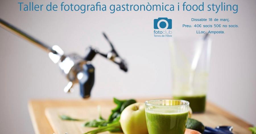 Curs de fotografia gastronòmica i food styling