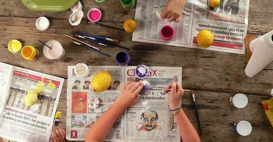 Laboratori d'idees: taller de manualitats per a famílies
