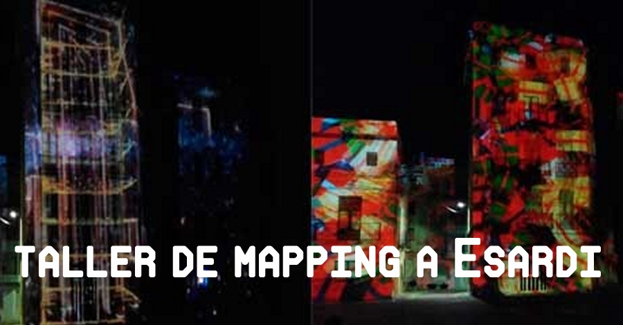 Taller Esardi – MAPPING. Infinity Projections 3D & Audiovisuales