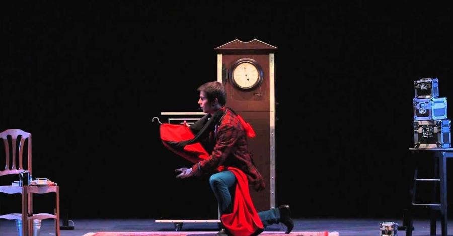 """Teatre infantil amb l'obra """"Tea Time Magic Show"""", a càrrec  de Txema"""