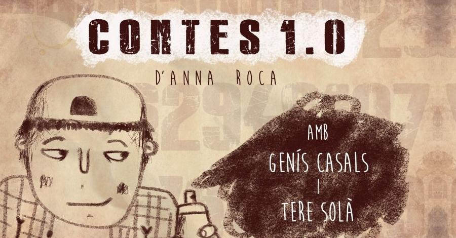 Teatre infantil i familiar: 'Contes 1.0', a càrrec de Cia Teatre a la Fuga