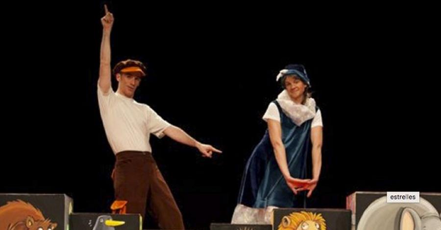 Teatre infantil i familiar d'Amposta. La Xarxa, amb l'obra «Sol amb la Lluna»