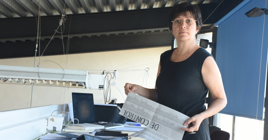 L'artista veneçolana Teresa Mulet prepara a Balada la seua propera exposició que indaga sobre els mecanismes de control