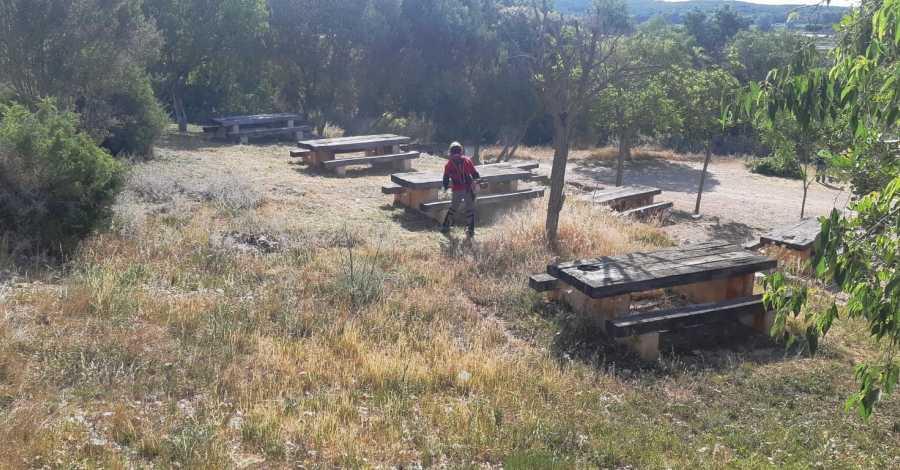Comencen els treballs de neteja i recuperació de la Carrova i de la vora del riu a la zona del Castell