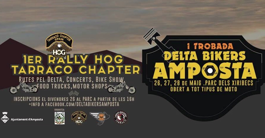 1a Trobada Delta Bikers Amposta – 1er Rally Hog Tarraco Chapter