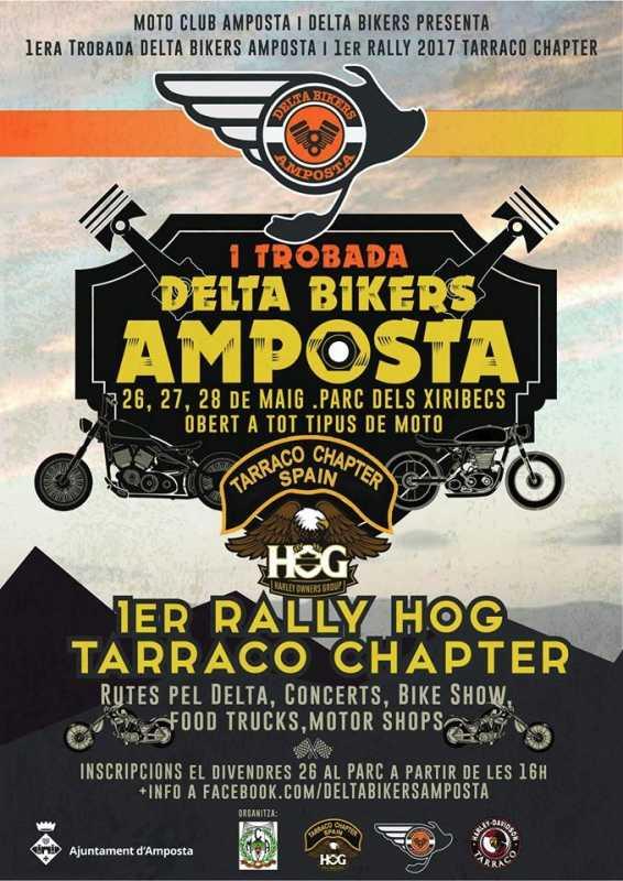 1a Trobada Delta Bikers Amposta – 1er Rally Hog Tarraco Chapter
