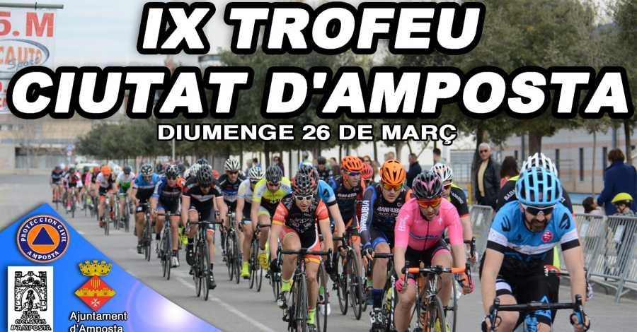 Diumenge es disputarà una nova edició del Trofeu Ciutat d'Amposta de Ciclisme