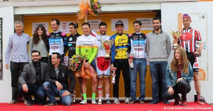 Joan Font s'imposa a la novena edició del Trofeu Ciutat d'Amposta de ciclisme | Amposta.info