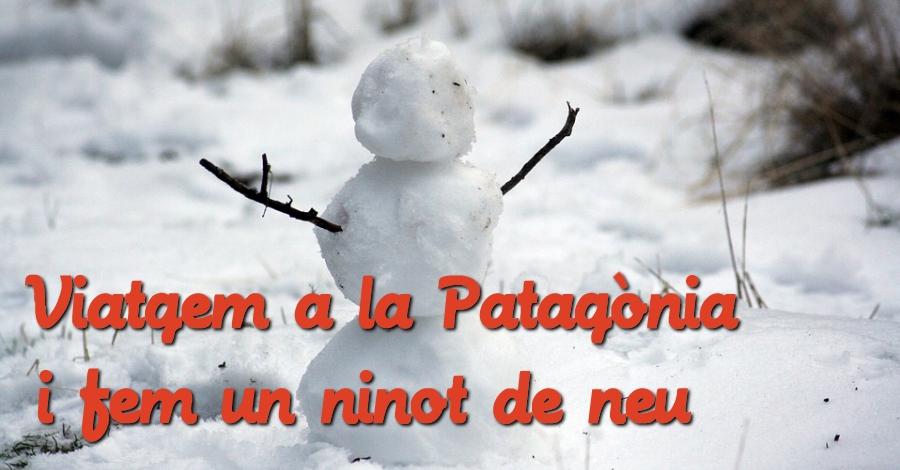 Laboratori d'idees: Viatgem a la Patagònia i fem un ninot de neu