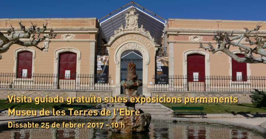 Visita guiada gratuïta exposicions permanents del Museu de les Terres de l'Ebre