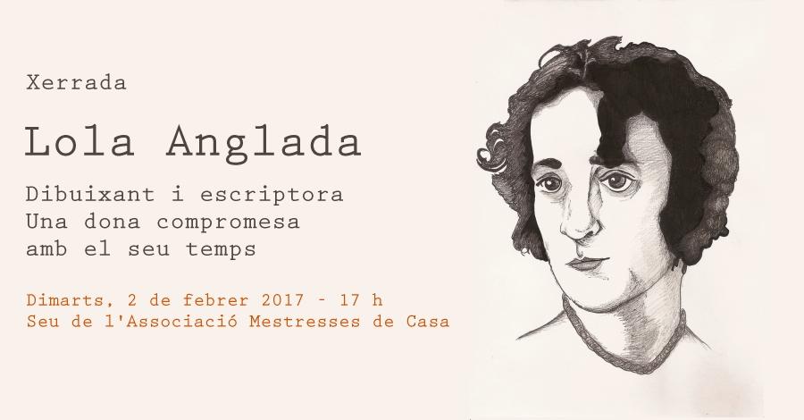 """Xerrada: """"Lola Anglada. Dibuixant i escriptora. Una dona compromesa amb el seu temps"""""""