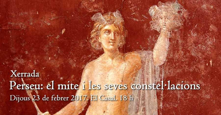 """Xerrada: """"Perseu: el mite i les seves constel·lacions"""""""