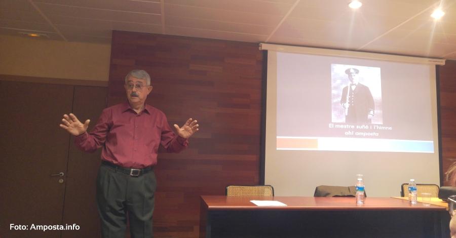La figura del músic Joan Suñé enceta el cicle de conferències «Els sons de la Festa del Mercat a la Plaça d'Amposta» | Amposta.info